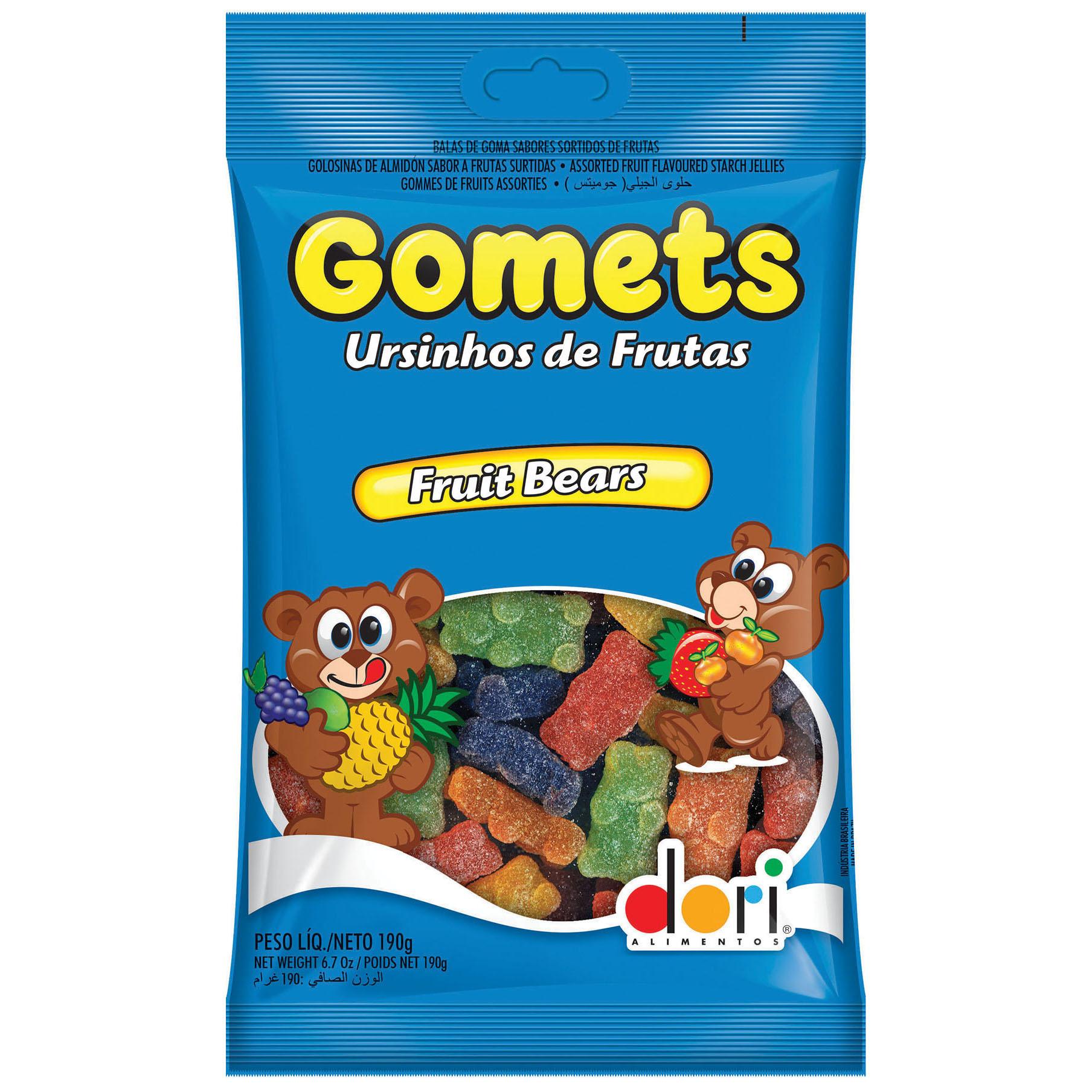 Gomets Ursinhos De Frutas (Dori Alimentos)