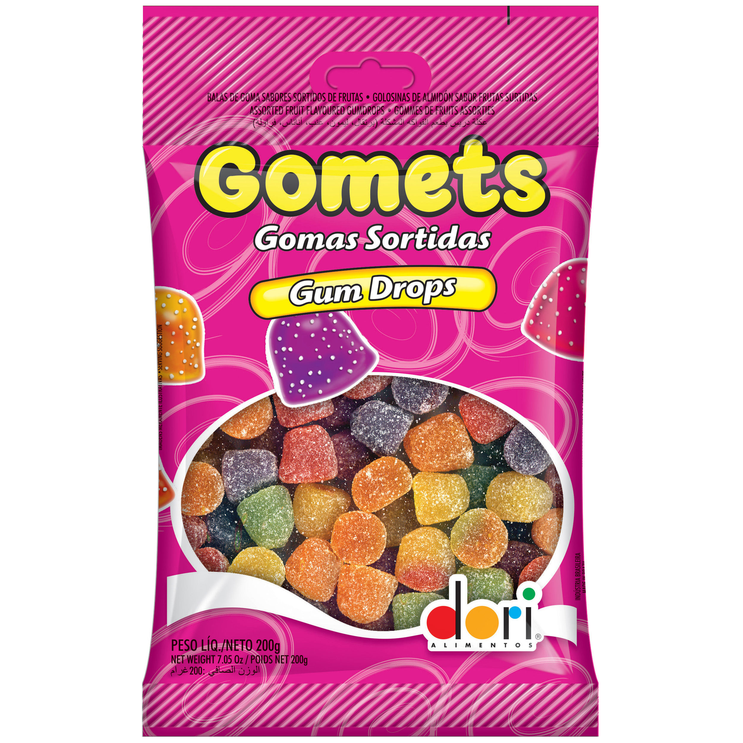 Gomets Gum Drops (Dori Alimentos)