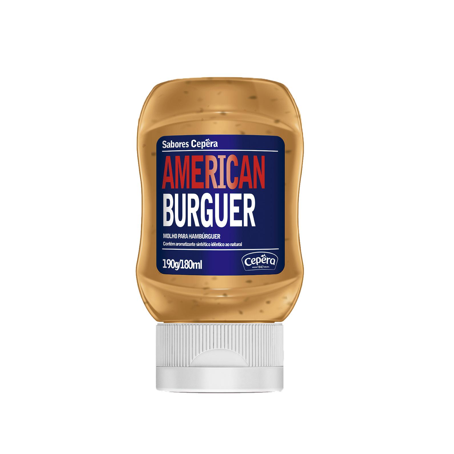 American Burguer (Sabores Cepêra)