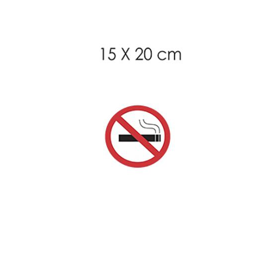 Placas Imports Fácil De Sinalizar – Adesivo Não Fume