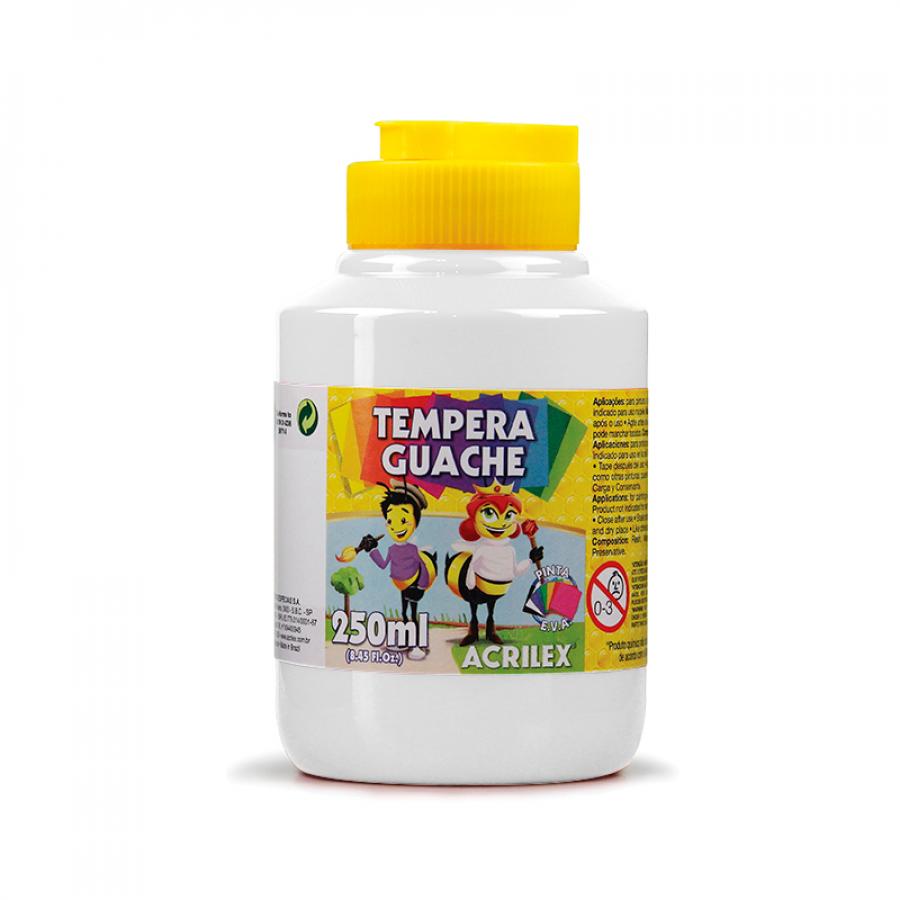 Tempera Guache Branca Acrilex 250ml
