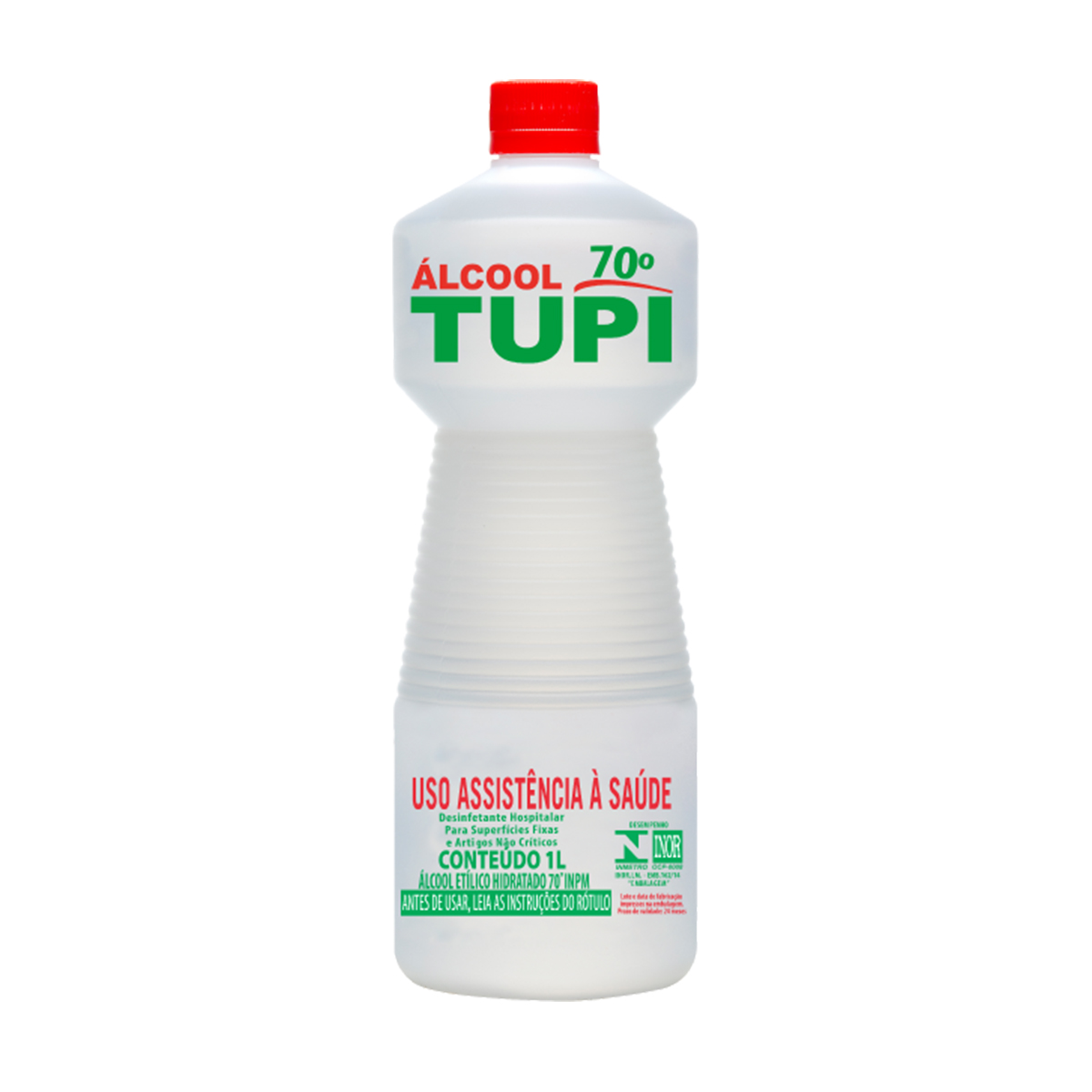 Álcool Líquido 70º INPM Tupi