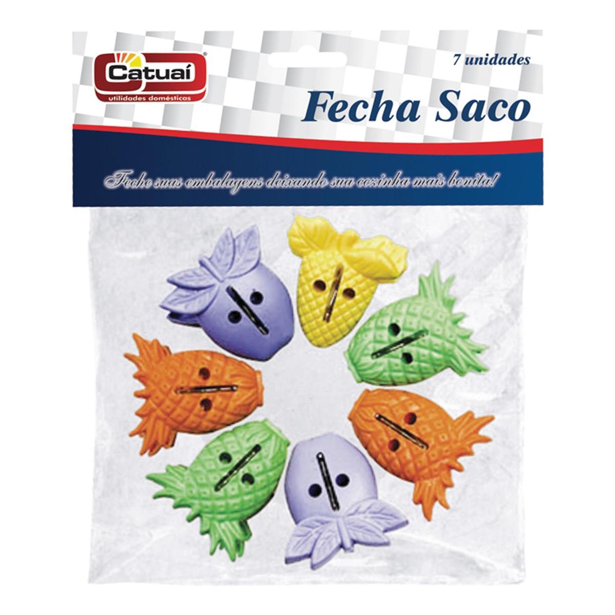 Prendedores Fecha Saco Catuaí