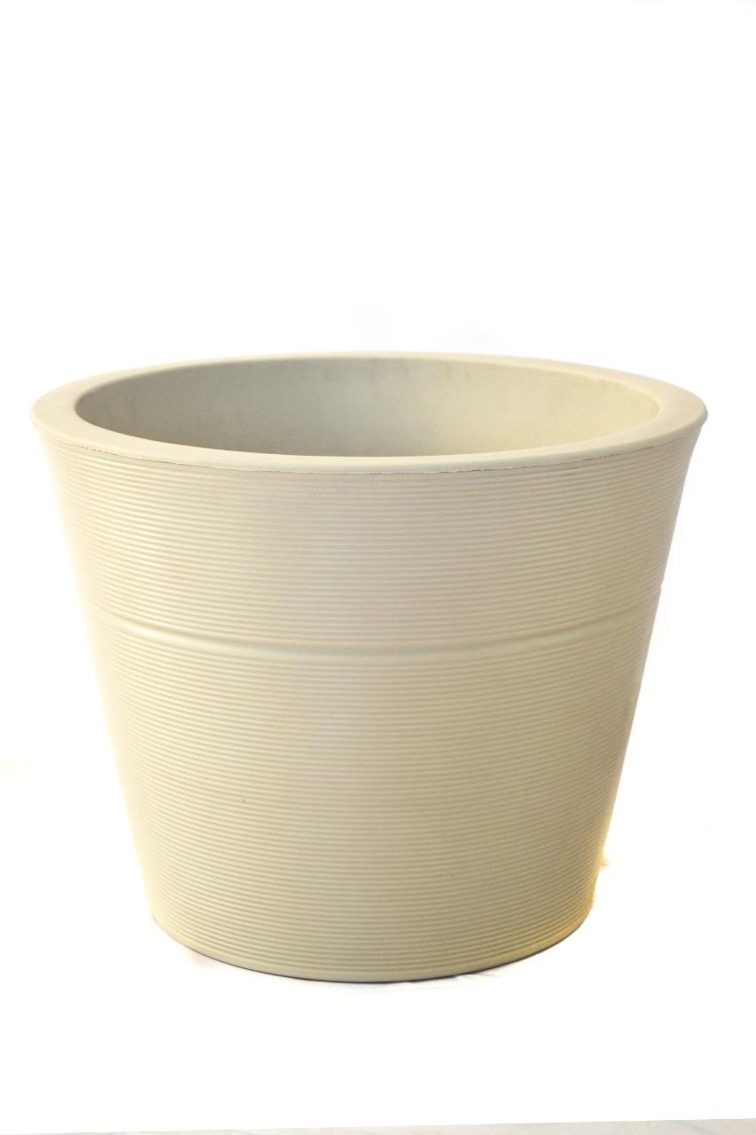 Vaso Luna 35 Areia- Verdy Vasos