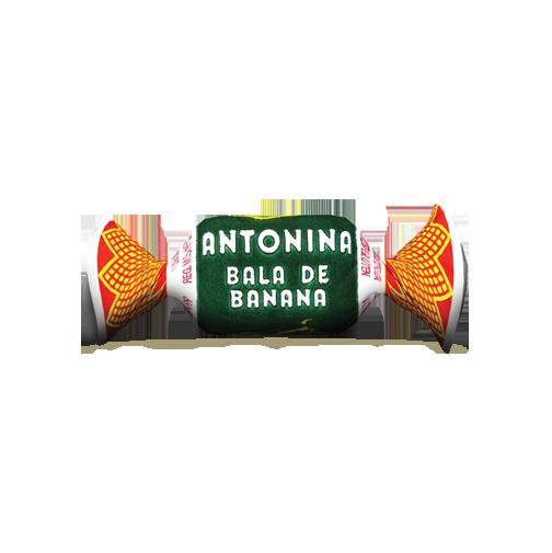 Bala De Banana Antonina Pacote 200g