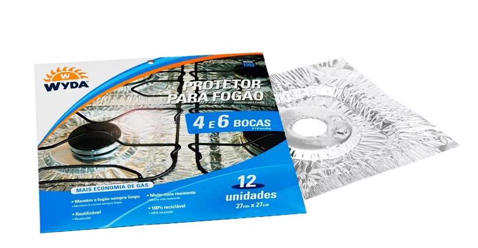 Protetor Para Fogão 4 E 6 Bocas Wyda