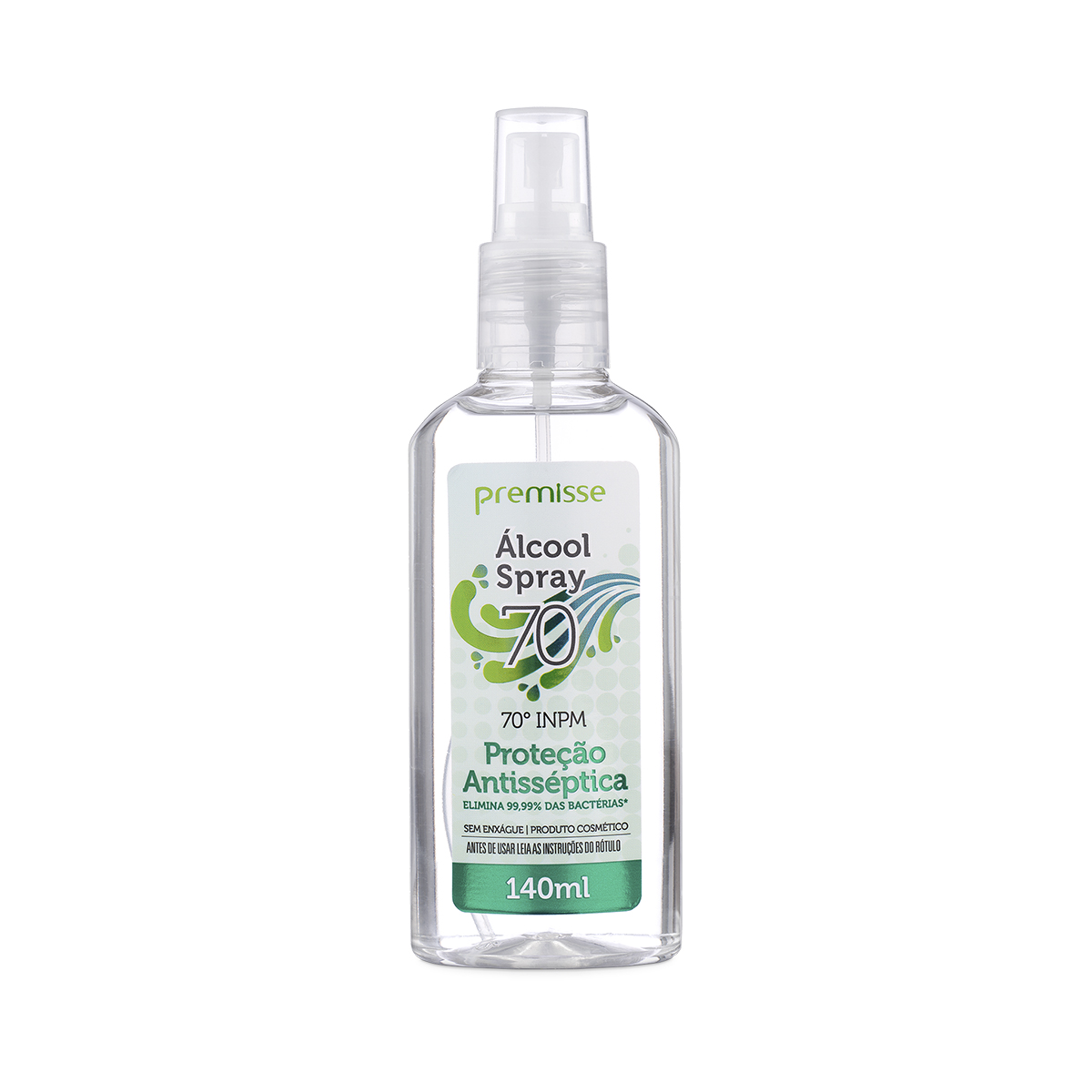 Álcool Spray 70º INPM Premisse 140ml