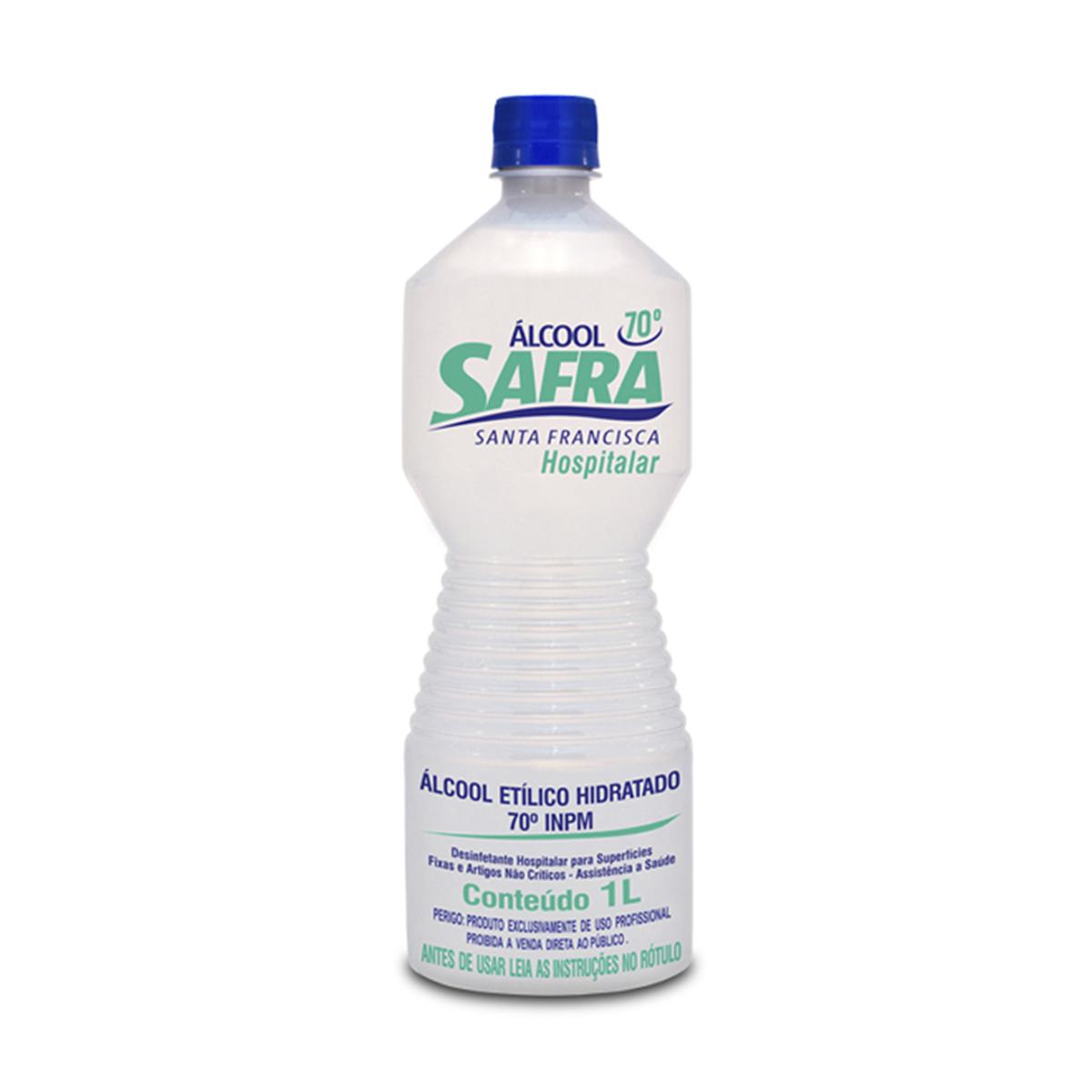 Álcool Líquido 70º INPM Safra