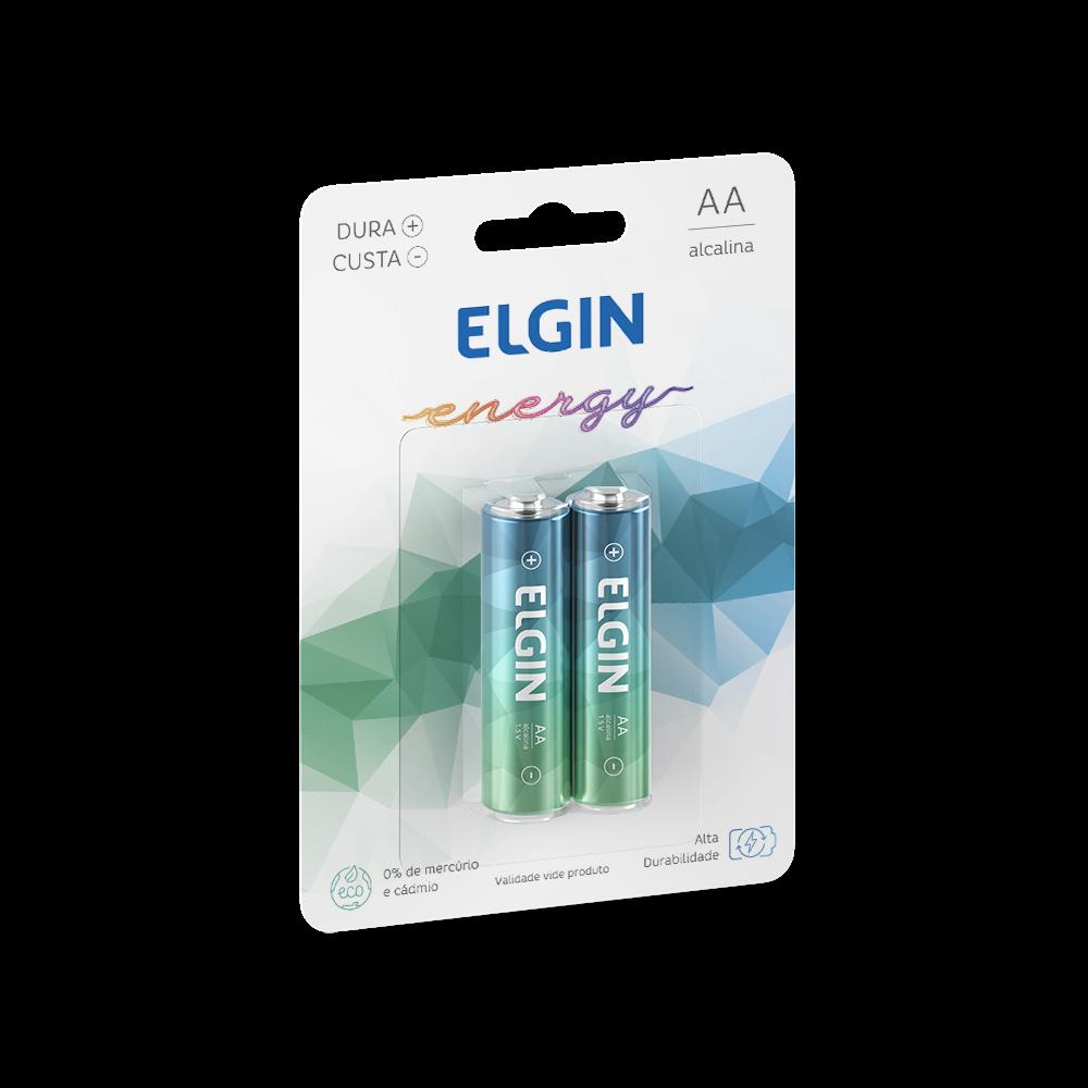 Pilha ALC. AA Com 4 Elgin