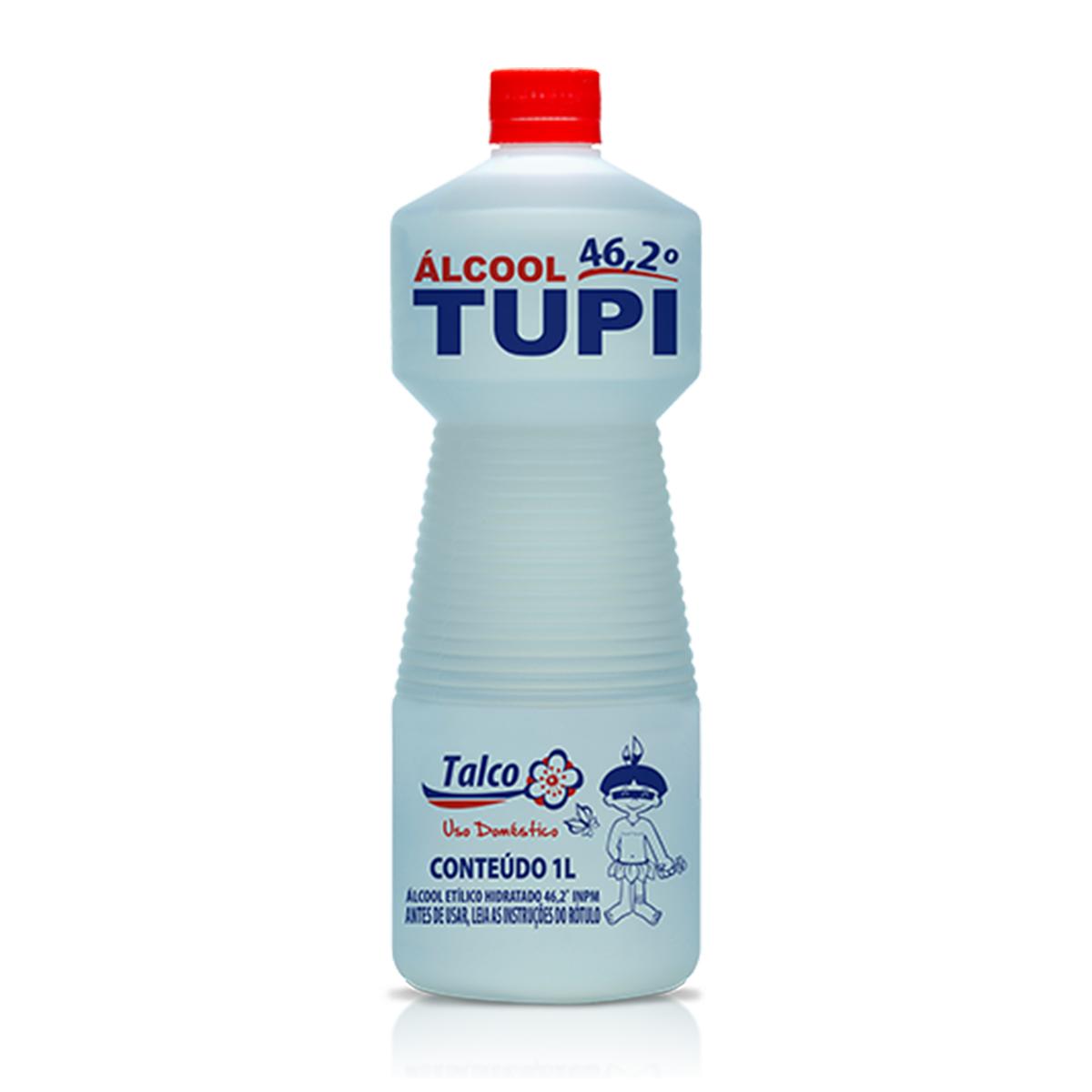 Álcool Líquido 46,2º INPM Talco Tupi
